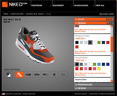 code promo 8109f acaf4 Nike ID: l'hyper personnalisation marketing
